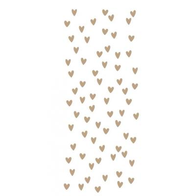 Spellbinders Glimmer Hot Foil Plates - Scattered Hearts Background